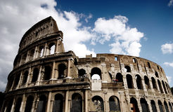 Coliseum in Rome, Italy. On a beautiful summer's day Royalty Free Stock Photography
