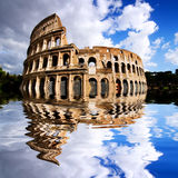 Coliseum in Rome, Italy Stock Photo