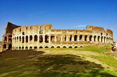 The Coliseum in Rome, Italy Stock Images