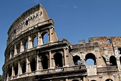 The Coliseum Royalty Free Stock Images