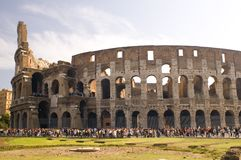 Coliseum in Rome Italy Royalty Free Stock Images