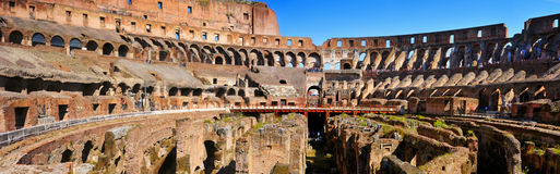 The Coliseum in Rome, Italy Royalty Free Stock Image