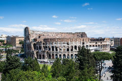 The coliseum in Rome Stock Image