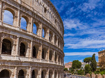 Coliseum in Rome Italy Royalty Free Stock Photography