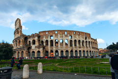 Coliseum in Rome, Italy Royalty Free Stock Image