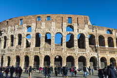 Coliseum of Rome, Italy Royalty Free Stock Photography