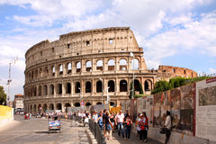Coliseum Rome - Italy Stock Images