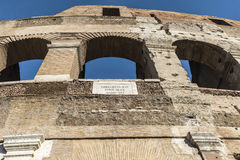Coliseum of Rome, Italy Royalty Free Stock Image