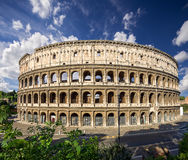 Coliseum. Rome. Italy. View of famous Coliseum. Rome. Italy Royalty Free Stock Photos