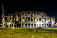 Coliseum in rome by Night Royalty Free Stock Photos