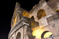 Coliseum in Rome by night, Italy Royalty Free Stock Images