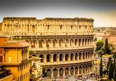 Coliseum Rome, Roma, Italien Arkivbild