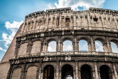 Coliseum in Rome Stock Images
