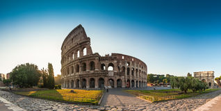 Coliseum, Rome. Sunrise at the Coliseum, Rome, Italy Royalty Free Stock Photo
