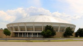 Coliseum With Silver Dome Royalty Free Stock Photography