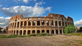 Coliseum in the sun stock video