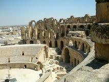 Coliseum Tunesië royalty-vrije stock fotografie