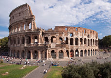 Coliseum view from Foro Romano - Roma - Italy Royalty Free Stock Photography