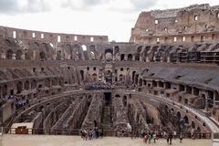 Coliseum. View of the coliseum in Rome Royalty Free Stock Photo