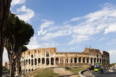 The Coliseum. Wide view of The Coliseum Royalty Free Stock Photo