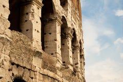 coliseumdetalj rome royaltyfria bilder