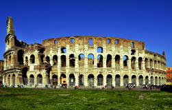 Coliseumen i Rome, Italien Royaltyfri Bild
