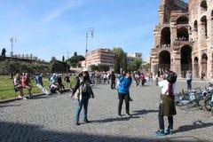 Coliseumen på Rome, Italien Royaltyfri Foto