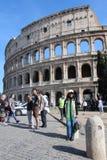 Coliseumen på Rome, Italien Royaltyfri Bild