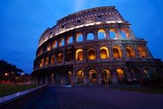 coliseumgryning italy rome arkivfoto