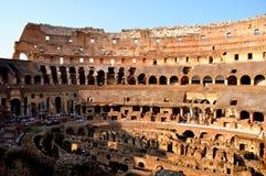 coliseumitaly rome sikt royaltyfri foto