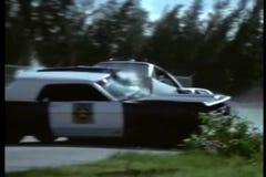 colisión del Multi-vehículo almacen de metraje de vídeo