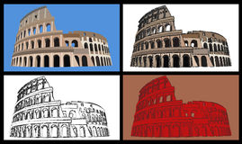 Colisseum stock photos