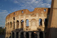 Colisseum in the morning Stock Photography