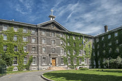 Collège de Montréal. The Collège de Montréal is a private high school for students attending grades 7–11 located in downtown Montreal, Quebec Royalty Free Stock Photos