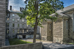 Collège de Montréal. The Collège de Montréal is a private high school for students attending grades 7–11 located in downtown Montreal, Quebec, Canada royalty free stock photo