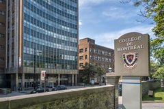 Collège de Montréal. The Collège de Montréal is a private high school for students attending grades 7–11 located in downtown Montreal, Quebec, Canada royalty free stock photos