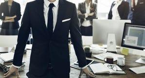 Collègues Team Corporate Concept de collaboration d'affaires photographie stock