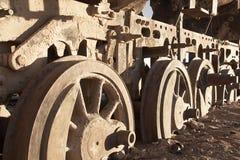 Collé dans le sable Image stock
