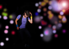 Coll που φαίνεται τοποθέτηση χορευτών Στοκ Φωτογραφία