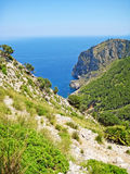 Coll Baix, famous bay / beach in the north of Majorca Stock Photo