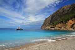 Coll Baix i Mallorca Arkivfoto