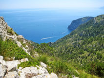 Coll Baix, Majorca - view from above of peninsula victoria Royalty Free Stock Photo