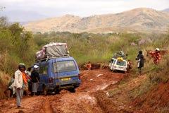 Collé dans la boue Photographie stock libre de droits
