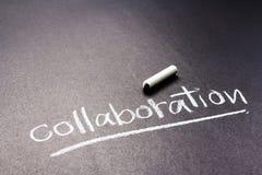 collaboration photographie stock