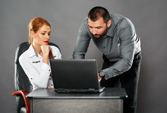 Collaboration in business Stock Photos