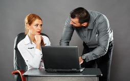 Collaboration in business Royalty Free Stock Photos