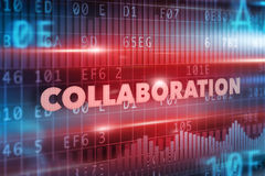 Collaboration concept Royalty Free Stock Images