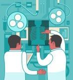 Collaboration dans la médecine Photo libre de droits
