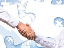 Collaboration enhances harmony with good life. royalty free stock image