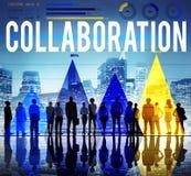 Collaboration Organization Partnership Team Building Concept Royalty Free Stock Image